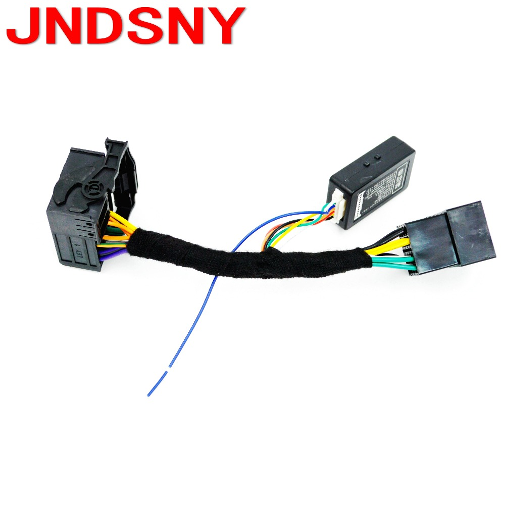 US $19 76 5% OFF|JNDSNY RCD330 plus RCD330 + decoder, CANBUS simulator ,  cable plug, plug and pla for VW Golf VI Jetta 5 6 MK5 MK6 Passat B6 Polo-in