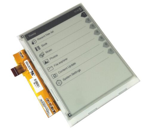 6 e-ink LCD screen display for Rolsen REB-602 ebook accessories free shipping lc171w03 b4k1 lcd display screens