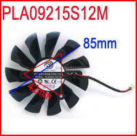 POWER LOGIC DC BRUSHLESS FAN PLA09215S12M 12V 0 35A 85mm 42x42x42mm MSI R7 240 Graphics Card