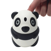 Automatic Toothpick Holder Container Cartoon Panda Household Table Decoration for Storage Box Dispenser