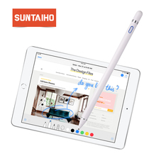 Купить с кэшбэком for apple Pencil, Suntaiho new stylus capacitance touch Pencil for apple ipad For iPhone XS MAX with retail Packaging
