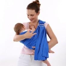 Mode Respirant porte-bébé avec anneau En Métal garçons filles Sling anneau d'eau swimmng élingues 100% coton 4 couleur