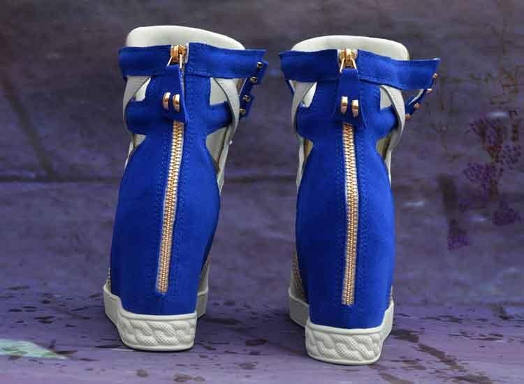 e4ded340 Diseñador Zapatos As Redonda Tacones Cuñas Beertola La Lujo Metal De as  Suede Picture Punta Altura Aumento Ocultos Mujer ...