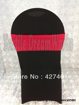 Dark Red Spandex Bands / Lycra Band / Expand Bands /spandex chair sash/Chair cover sash For Wedding & Banquet