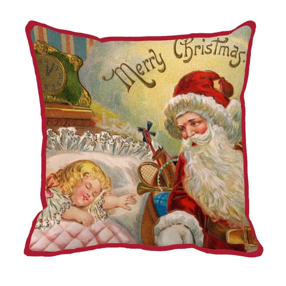 Christmas style pillow print cushion home decor pillows decorate luxury decorative cushions custom pillow decor