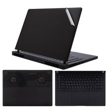 Black Laptop Sticker for Xiaomi Mi Gaming Notebook 15.6 inch Full Body Vinyl Decal Laptop Skin Cover for Xiaomi Game Book 15.6 xiaomi mi gaming laptop