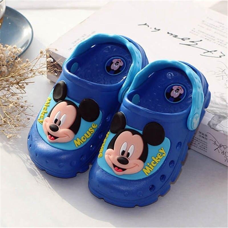 Flash Led Criancas Esfriar Chinelos De Desenhos Animados Da Disney