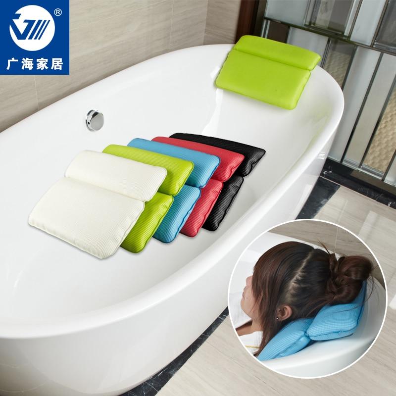 Pvc Foam Waterproof Bath Cushion Bathtub Pillows Spa Supplies Bath ...