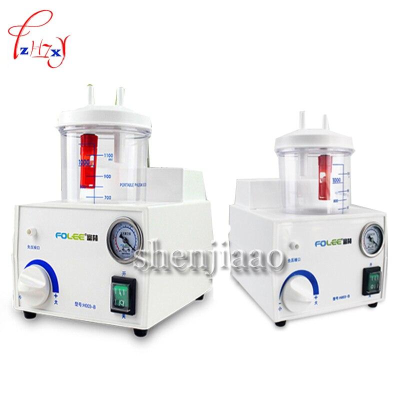 H003-B 1000ML Electric-Drive phlegm-Sucker  Portable Dental Medical Emergency Aspirator Vacuum Electric Catarrh