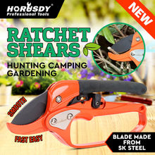 HORUSDY Garden Pruning Shear Fruit Tree Garden Scissors Grafting Tool Plant Scissor Branch Pruner Trimmer Home Tools Anti-slip