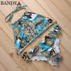BANDEA Sexy Bikini 2017 Women Swimsuit Push Up Swimwear Female Brazilian Bikini Set Bandeau Summer Beach
