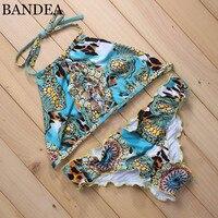 BANDEA Sexy Bikini 2017 Women Swimsuit Push Up Swimwear Female Brazilian Bikini Set Bandeau Summer Beach