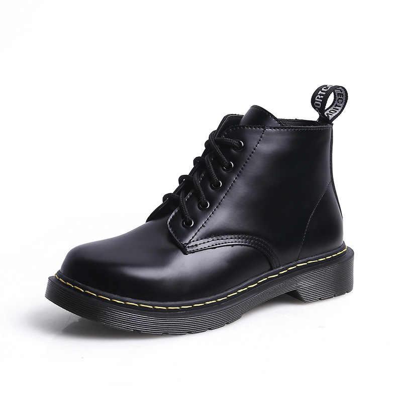 Avrupa ve Amerika Birleşik devletleri İngiliz fan ayakkabı düz çizmeler kısa çizmeler Haisum çizmeler kadın H-H1803-8