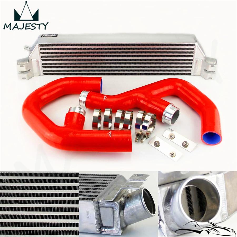Vw Jetta Twin Turbo Kit: RED TURBO TWIN INTERCOOLER KIT FOR Volkswagen VW GOLF MK5