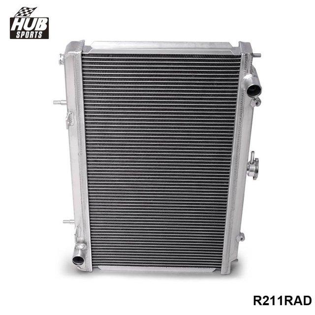 Para 95-98 Nissan 240SX Silvia S14 Sr20/R211RAD Sr20Det MT 2 Linha Radiador De Alumínio Cheio