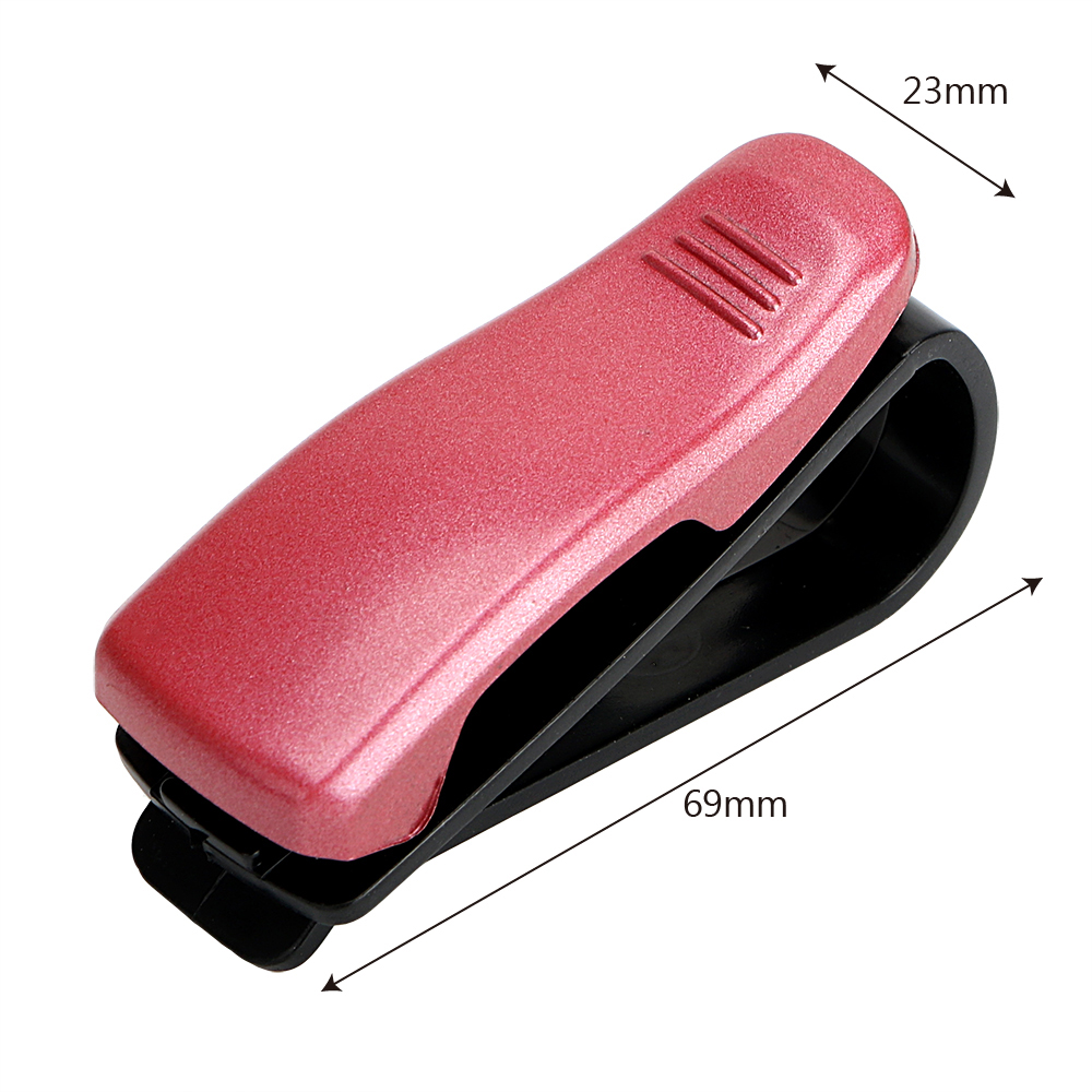 HTB1FzxsSpXXXXXnaFXXq6xXFXXXF - Eyeglasses Clip Car Sun Visor Sunglasses Holder Car Glasses Cases Fastener Cip Portable Ticket Card Clamp Car Styling ABS