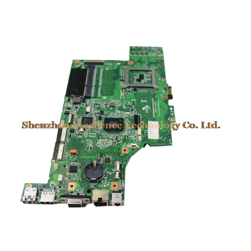 G53SX 2 RAM SLOT motherboard for ASUS Laptop mainboard free shipping