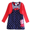 blue red baby children girls dresses,roupas infantil vestidos infantis festa vestir de birthday for clothes long sleeve