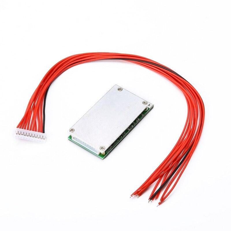 Mayitr 1 pc 10 S 36 V 37 V 15A Li-ion batterie au Lithium BMS PCB PCM adapté pour vélo électrique Ebike