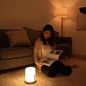 Image 5 - ใหม่รุ่นXiaomi Mijiaโคมไฟข้างเตียง2 Smart Light Touch Controlสวิทช์สมาร์ทAPPสีปรับสำหรับApple Homekit siri