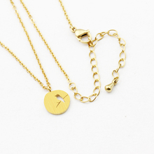 Gold Color Vintage Stainless Steel Women Jewelry Stay In The Moonlight Under The Bird Pendant Necklace Best Friend Gift Necklace