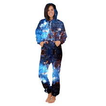 Centuryestar 3D Print Christmas Onesie For Adults Women Onepiece Pajamas Hooded Combinaison PyjamaHome Out Onsie Tmall Quality