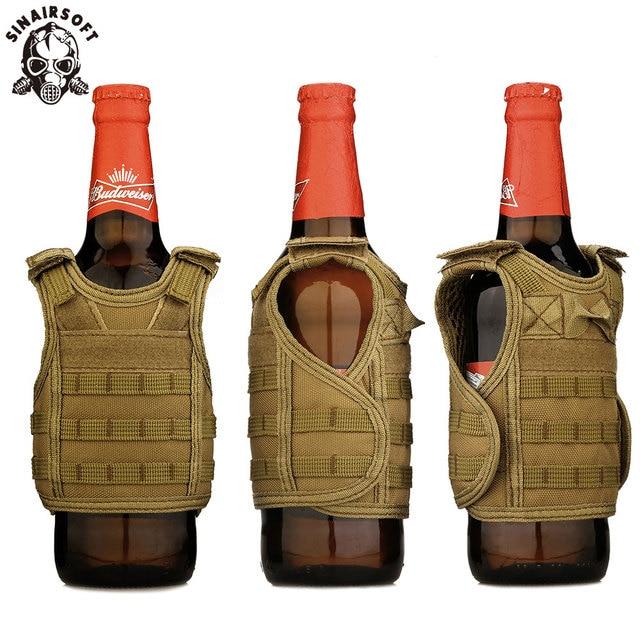 Tactical Premium Beer Military Molle Mini Miniature Hunting Vests Beverage Cooler Adjustable Shoulder Straps United States 5