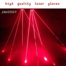 Free shipping custom creative personality laser hand bar night shop DJ luminescent semi finger glove team performing dance