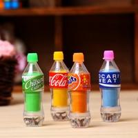 Discount School Stationery Eraser Set 4 Pieces Of Coke Eraser Per Lot Super Nice Packing Suitable