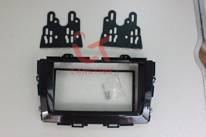 Car refitting DVD frame DVD panel Dash Kit Fascia Radio Frame for 2013 Honda Crider  2DIN|Fascias|Automobiles & Motorcycles - title=