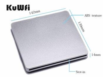 USB3.0 lecteur combiné externe BD-ROM Blu-Ray/graveur de DVD lecteur de BD-ROM combiné 3D Blue-ray pour Apple Macbook Pro ABS