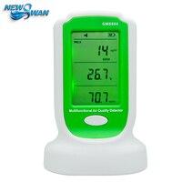 Цифровой формальдегида детектор метр Газоанализаторы формальдегида PM 2.5 pm1 измерения многофункциональный детектор качество воздуха