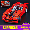 LEPIN 20028 Technic series Super Car assembly toy car model DIY brick building block toy gift for boy New Year gift 8070