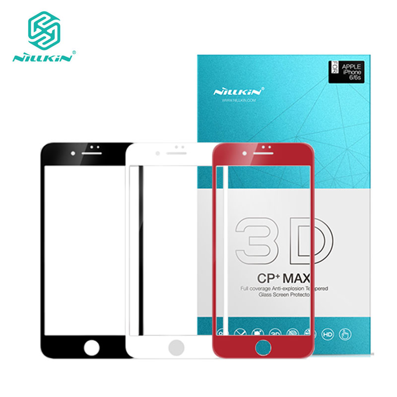 Nillkin sFor iPhone 8 Plus Tempered Glass for iPhone 8 3D Glass CP+ Max Full Cover Screen Protector for iPhone 7 7Plus 8 8Plus