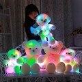 Big Bear Плюшевые Чучела Животных Мягкие Фонарик Светодиодный Световой Glow Игрушки Рождество Подарок На День Рождения Куклы Для Девушки Детей Малыша