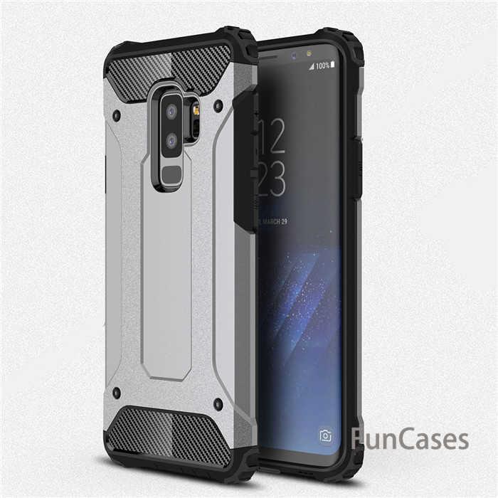 Đối Với Samsung Galaxy S5 S6 CẠNH Cộng Với S7 S8 S9 Armor Trường Hợp Đối Với A3 A5 A7 J1 J5 J7 2016 j3 J4 J6 J8 2018 A6 Cộng Với Bìa Lưu Ý 4 5 8 Capa