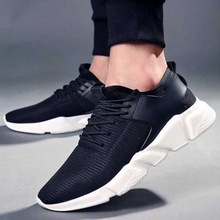 Unisex Running Shoes Sneakers Mesh Breathable Lightweight Outdoor Sport Lace-up Casual Walking Shoes For Men Women недорого