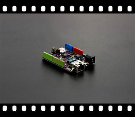 DFRobot 100% Genuíno W5500 Ethernet com Placa de Controle Compatível com Arduino ATmega32u4 e POE para IOT (o processador intel de coisas)