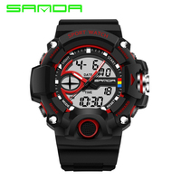 Men Watch 2018 SANDA Luxury Brand S Shock Men Sport Digital Watch Fashion Outdoor Military Men Wrist Watch relogio masculino