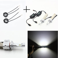 NEW Super Brightness Car Headlight Led Bulb H7 H4 48W 1800Lumens 1set Free Shipping