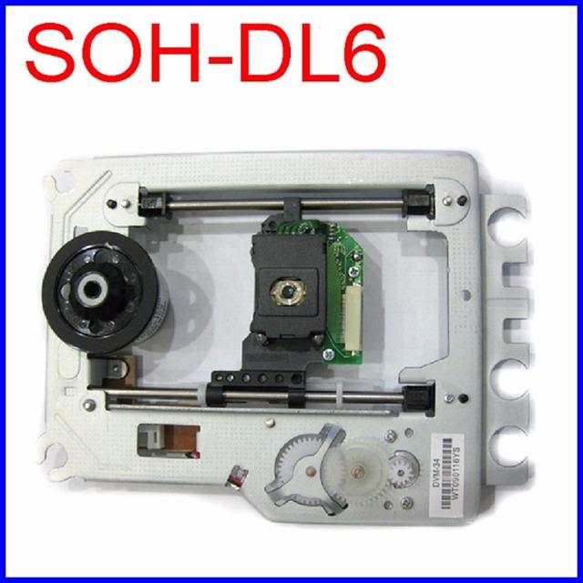 Frete grátis soh-dl6 optical pick up mecanismo assembléia lens laser soh-dl6 para pioneer ls dvd-8300a optical pick-up