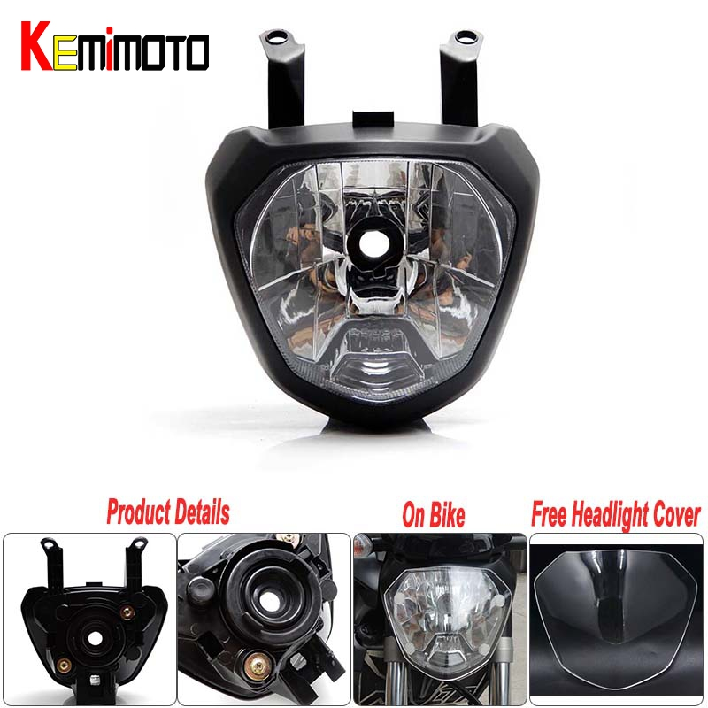 MT 07 MT07 Front Head Light Headlight Housing For Yamaha MT-07 FZ-07 2014 2015 2016 Motorcycle Lighting Headlamp accessories new style balance shock front fork brace for yamaha mt07 fz07 mt 07 fz 07 2014 2015 2016 motorcycle accessories cnc aluminum