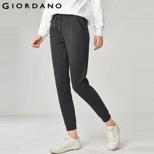 Giordano Femmes Solides Jogger Pantalon Ceinture Cordon 2017 Pantalon Poche  Plaine Couleurs Qualité À Tricoter Marque 12ce0d3cace8