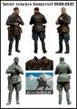 SOVIET TANKMAN (SERGEANT) 1940-1942 1/35 Resin Model Kit Free Shipping