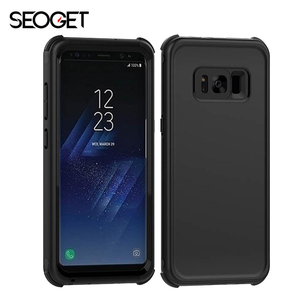 imágenes para 3 M Impermeable Caso de uso Diario para Samsung Galaxy S8 S8 caso Plus completo Mate Duro de La Cubierta para Samsung S8 Más Caja del teléfono protector