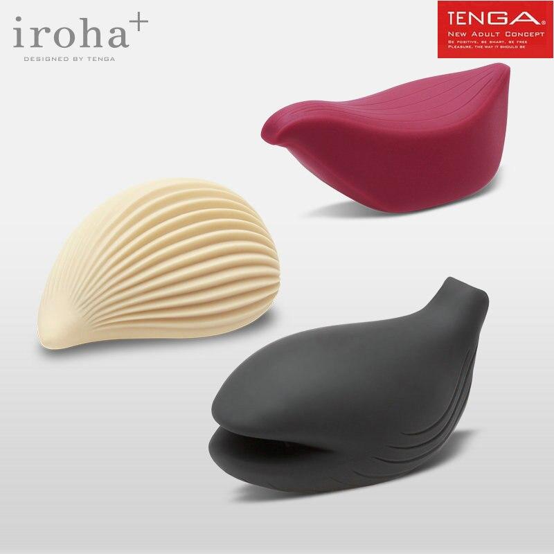 TENGA Ироха + USB Перезаряжаемые клитора Вибратор мягкий силиконовый клитор стимулятор вибрации массажер для взрослых Секс игрушки для женщин