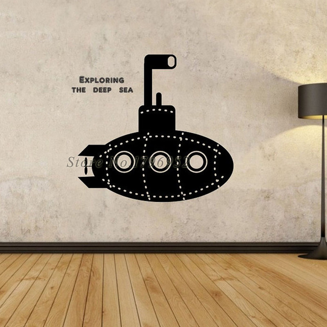 Aliexpresscom Buy Exploring The Deep Sea Vinyl Adhesive Wall - Vinyl stickers designaliexpresscombuy eyes new design vinyl wall stickers eye wall