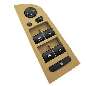 BTAP Beige Gauche Interrupteur D'alimentation De Fenêtre Pour BMW E90 E91 318i 320i 325i 330i 335i M3 61319217334 61 31 9 217 334
