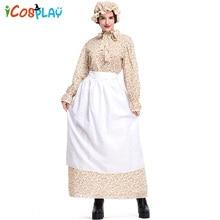 New Halloween adult wolf grandma costumes Export source fairy tale theme clothing Garden farm skirt