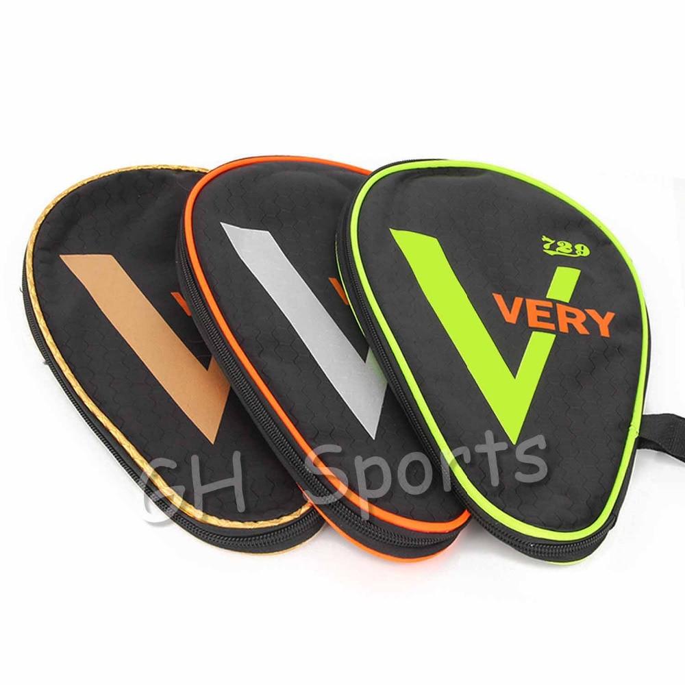 2018 NEW 729 VERY V Table Tennis Racket Case Ping Pong Paddle Bat Bag